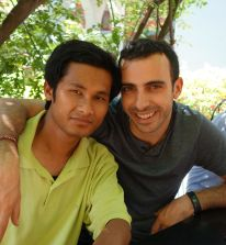 Elias Sfaxi et Raj Kumar
