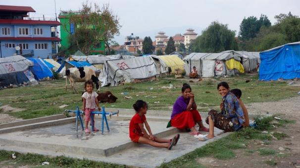 Camp de réfugiés, mai 2016