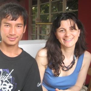 Fabienne Blain et Naren