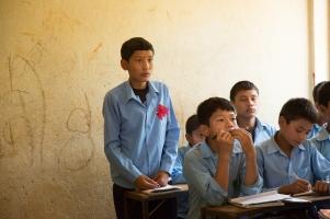 Deepak in classroom 2013