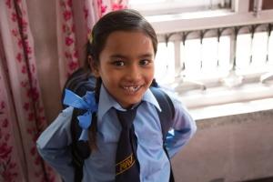 Ram Maya, prête à aller à l'école by Elias SFAXI (Copyright)