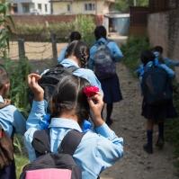 Sur le chemin de l'école MAV