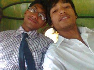 Shankar & his best griend !