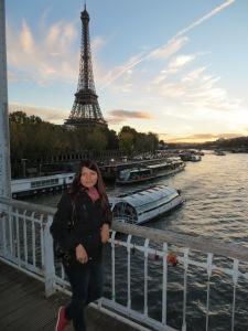 Sarita in Paris !