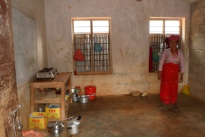 Kitchen in Dhading Shree Liti School