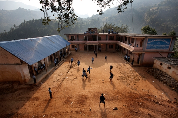 Shree Liti School - Copyright Frédéric Duhayer