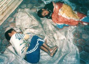 Enfants des rues, Népal