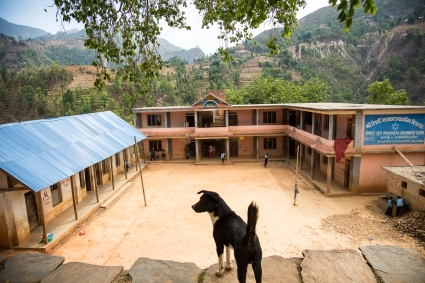 Shree Liti School in Dhading by Elias SFAXI - Copyright