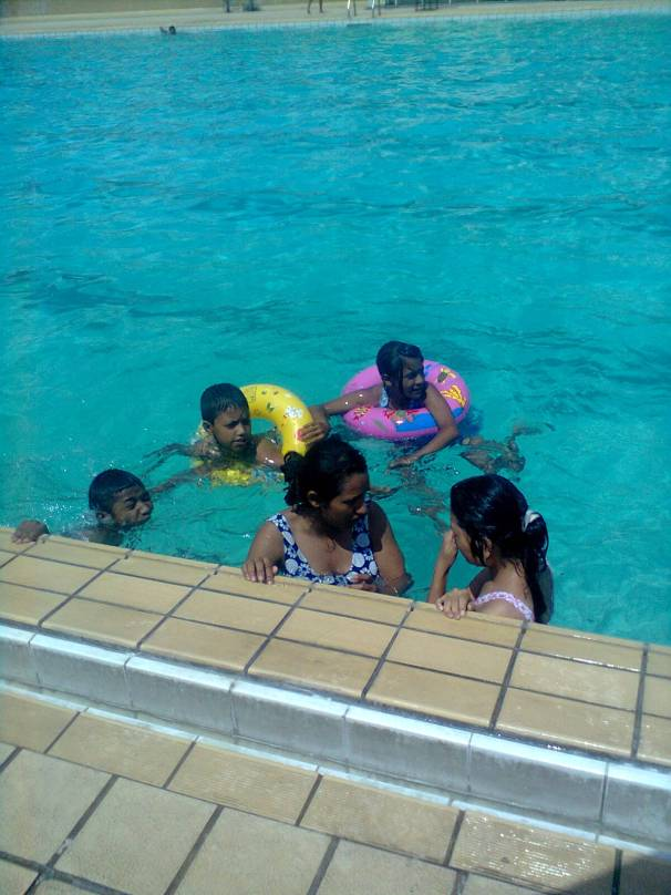 Bikram, Sudip, Sneha, Sarita and Pasang !