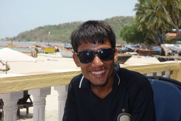 Shankar with his sunglasses !