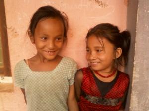 Chari Aya (left) and Sunita (right)