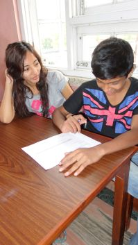 Jyoti and Suman