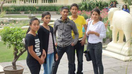 Pramilla, Usha, Saroj, Deepak and Pratikcha