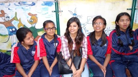 Simran, Sneha, Pratikshya, Anjali, Samjhana 2016