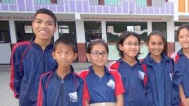 Rajendra, Ankit, Pratika et Aruna à AJS en mai 2016