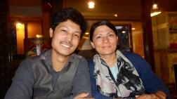 Sarita and Raj, son mari, May 2018