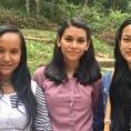 Charimaya avec Usha et Anjana 2019