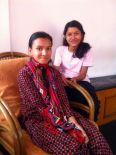Pushpa et Simran 2015