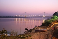 New bridge on Yumana river