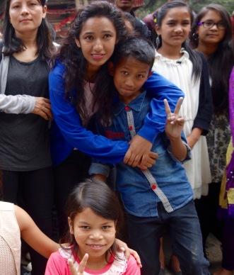Ankit et Sarita Junior en 2016