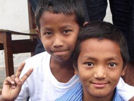 Ankit et Raj bahadur en 2015
