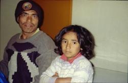 Sarita 2001 avec son père adoptif