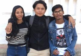 Nima 2018 avec Jyoti et Saroj