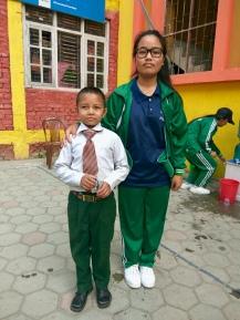 Sandesh et Pramila à HCA