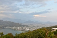 View of Pokhara