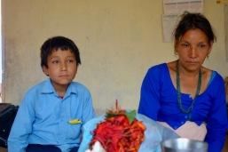 Anand et sa mère, 2012