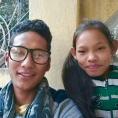 Deepak et sa soeur Sushila, janvier 2018