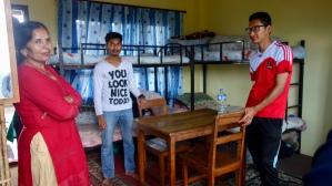 Tara, Saroj et Deepak au Foyer, 2018