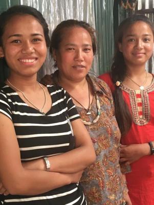 Junmaya, Aunt and Sunmaya