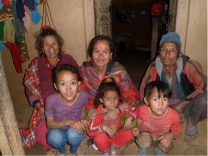 Anjana et famille 2013