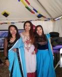 Jyoti à droite avec des amies 2019
